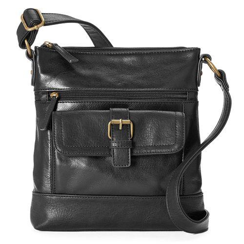 Stone Amp Co Megan Leather Crossbody Bag