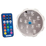 Blue Wave Remote Control LED Color Changing Pool Wall Light
