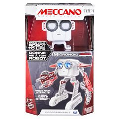 Meccano MEC TEC MicroNoid Programmable Red Robot