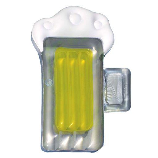 Swimline 72-Inch Beer Mug Inflatable Pool Float with Mini Cooler