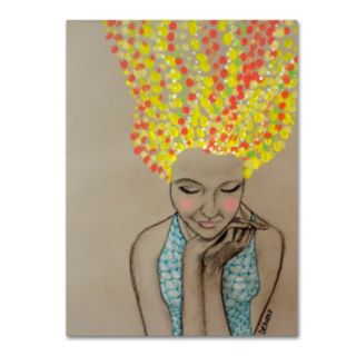 Trademark Fine Art Miss Sunshine Canvas Wall Art