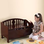 KidKraft Queen Anne Toy Box - Cherry Finish