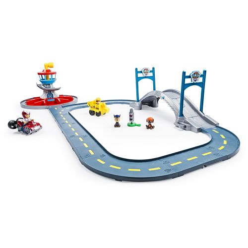 Paw Patrol Ryder & Rubble Launch n' Roll Lookout Tower Track Set by Spin Master