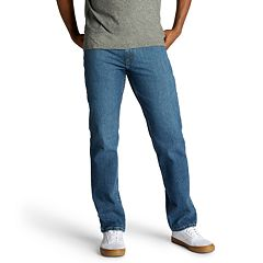 Men's Lee Regular-Fit Stretch Straight-Leg Jeans