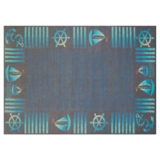United Weavers Regional Concepts Regatta Framed Rug
