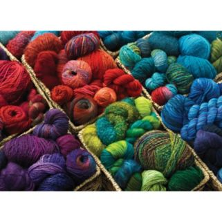 Cobble Hill Plenty of Yarn 1000-pc. Jigsaw Puzzle