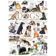 Cobble Hill Dog Quotes 1000 pc Jigsaw Puzzle