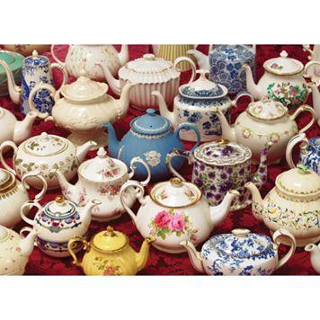 Cobble Hill Teapots 1000-pc. Jigsaw Puzzle