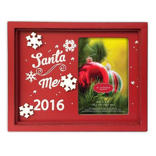 st nicholas square santa 2016 christmas frame