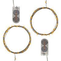 LumaBase Waterproof Mini LED String Light 2 pc Set