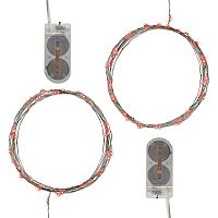 LumaBase Waterproof Mini LED String Light 2 pc Set