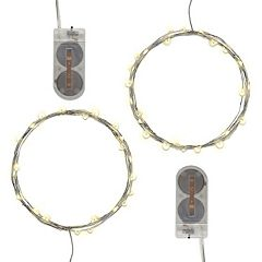 LumaBase Waterproof Mini LED String Light 2-piece Set