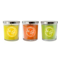 LumaBase 2.5' Citronella Mason Jar Candle 6-piece Set
