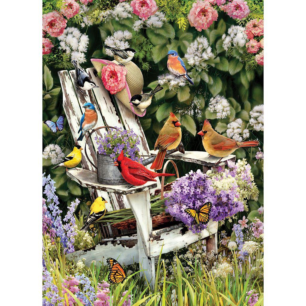 Cobble Hill Summer Adirondack Birds 1000-pc. Jigsaw Puzzle