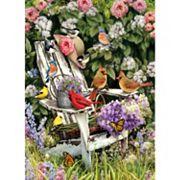 Cobble Hill Summer Adirondack Birds 1000 pc Jigsaw Puzzle