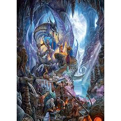 Cobble Hill Dragonforge 1000 pc Jigsaw Puzzle