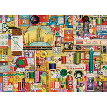 Cobble Hill Sewing Notions 1000-pc. Jigsaw Puzzle