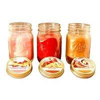 LumaBase Bake Shoppe Scented Candle 3 pc Set