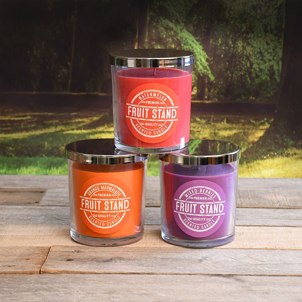 LumaBase Jam and Jelly Scented Candle 3-piece Set