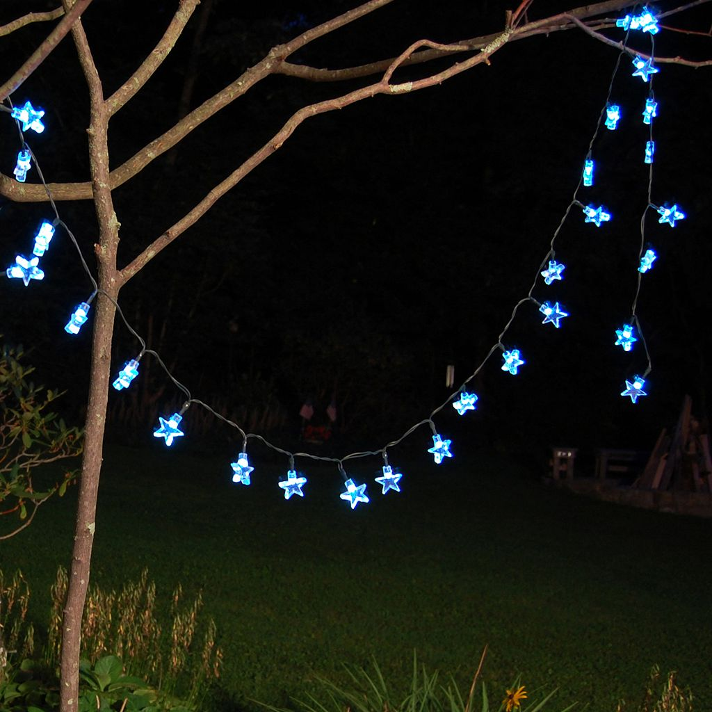 LumaBase Solar Star String Light Set