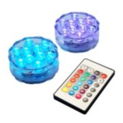 LumaBase Multi-Color LED Light & Remote Control 3-piece Set