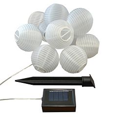 LumaBase 3' Solar Lantern 10 pc Set