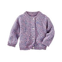 Baby Girl OshKosh B'gosh® Marled Cardigan