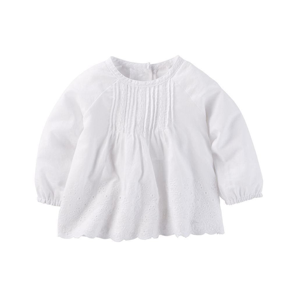 Baby Girl OshKosh B'gosh® Pintuck Top