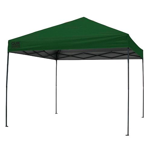 Quik Shade Expedition 100 Team Colors 10' x 10' Instant Canopy Shelter