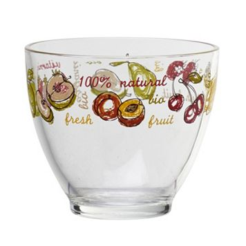 Global Amici Fresh Fruit 4-pc. Glass Bowl Set