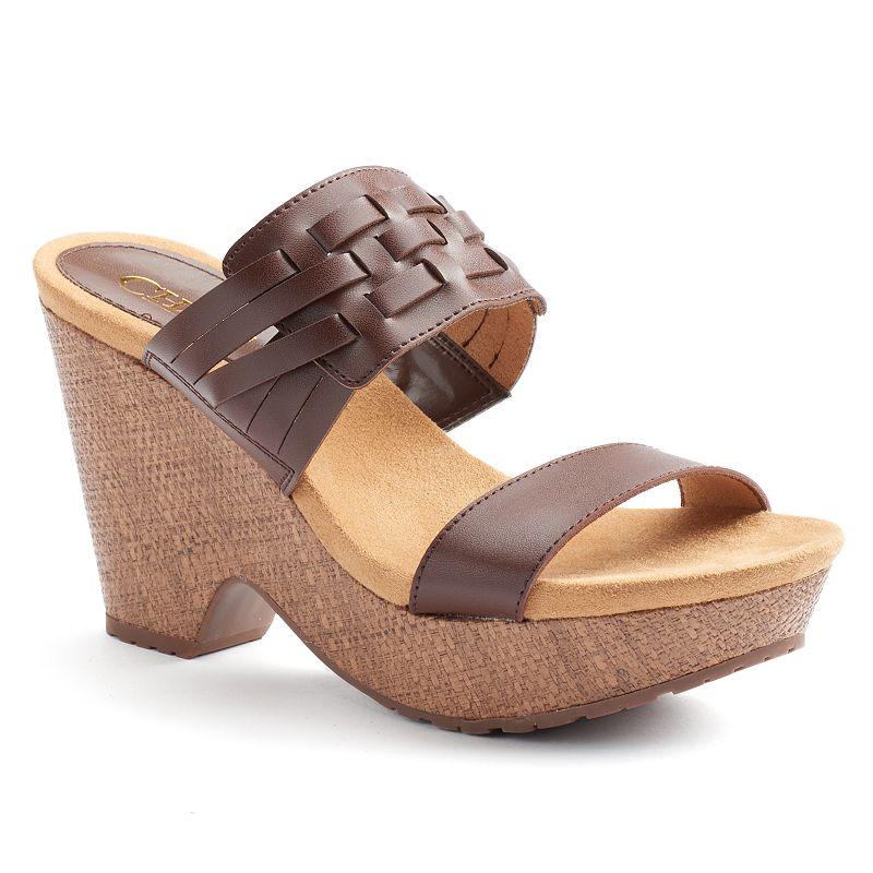 Chaps Jaslyn Women's Wedge Sandals