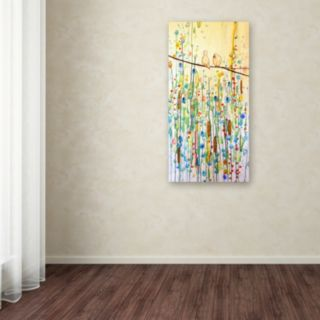 Trademark Fine Art Toi Et Moi Canvas Wall Art