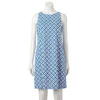 Women's M by Maia Geometric Shift Dress