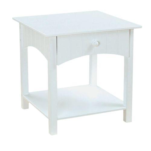 KidKraft Nantucket Toddler Side Table - White