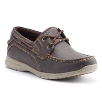 Grabbers Runabout Men's Slip-Resistant Boat Shoes