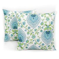 Arlee Home Fashions Indoor / Outdoor Throw Pillow 2 pc Set