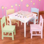 KidKraft Nantucket Table & Chair Set - White