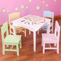 KidKraft Nantucket Table & Chair Set - White