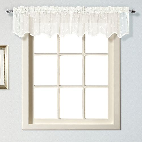 United Curtain Co. Savannah Window Valance