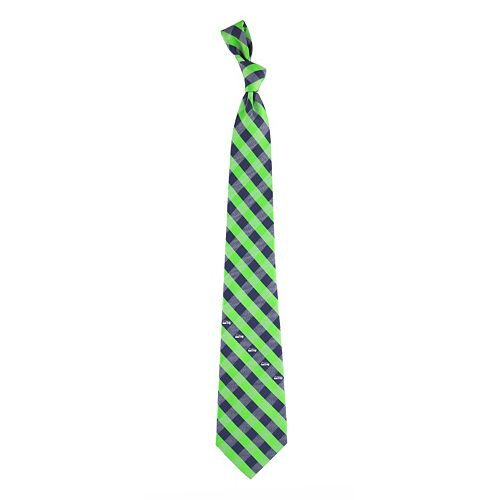 Adult NFL Check Woven Tie
