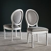 Safavieh Holloway Oval Dining Chair 2-piece Set