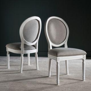 Safavieh Holloway Oval Dining Chair 2-piece Set