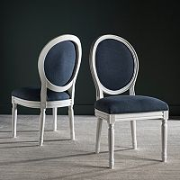 Safavieh Holloway Oval Dining Chair 2 pc Set