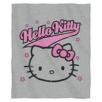 Hello Kitty Varsity Kitty Sweatshirt Throw