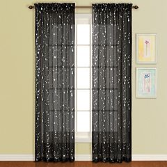 United Curtain Co. 1-Panel Savannah Window Curtain
