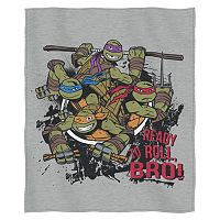 Teenage Mutant Ninja Turtles Turtle Roll Bro Sweatshirt Throw