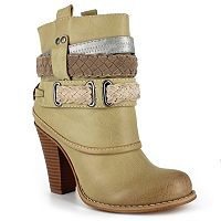 Dolce by Mojo Moxy Brigade Women's Ankle Boots