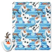 Disney's Frozen Big Face Olaf Pillow & Throw Set