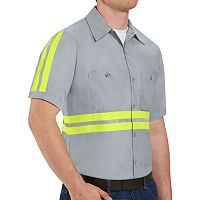 Men's Red Kap Enhanced Visibility Work Shirt