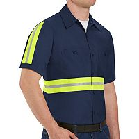 Men's Red Kap Enhanced Visibility Work Shirt